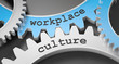 Leinwanddruck Bild - workplace culture