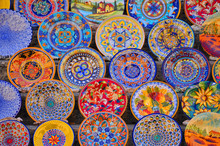 Painted Dishes From Tuscany - ...