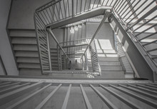 A Moody Stairwell Taken From T...