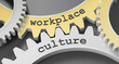 Leinwanddruck Bild - Workplace culture