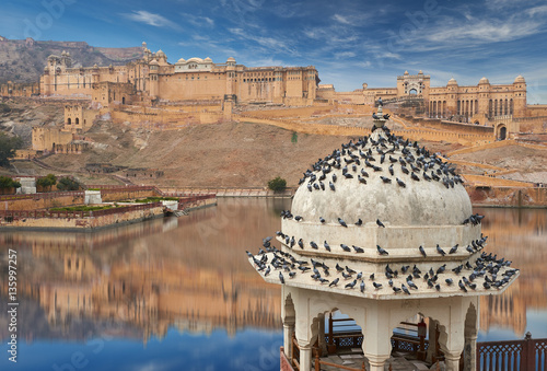 Papiers peints Fortification Amer Fort is located in Amer, Rajasthan, India.