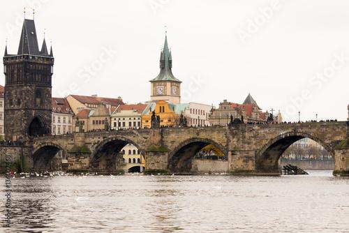 general view of Prague, Czech Republic Poster