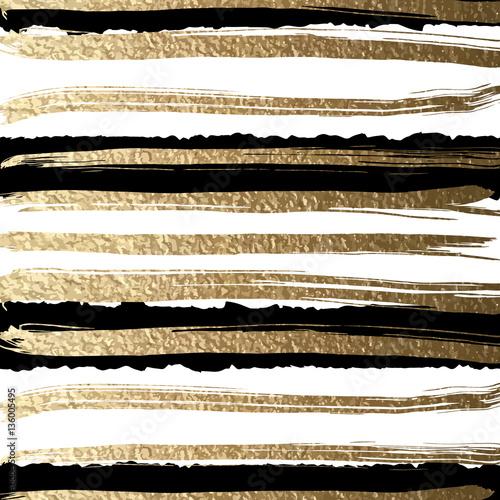 grunge-futurystyczny-tlo-rysujacy-musnieciem-zlote-farby-i-czarny-atrament