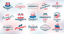 Presidents Day Vector Typograp...