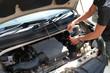 car engine compartment
