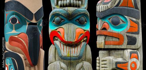 Photo  Totem Poles