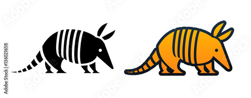 Photo Armadillo Icon