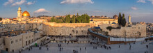 Temple Mount Panoramic View In...