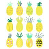 Pineapple set. - 136041273