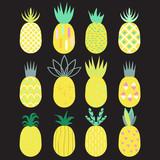 Pineapple set. - 136041277