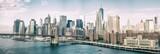 Fototapeta New York - NEW YORK CITY - OCTOBER 22, 2015: Lower Manhattan skyline from M