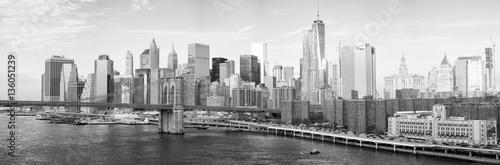 NEW YORK CITY - OCTOBER 22, 2015: Lower Manhattan skyline from M © jovannig