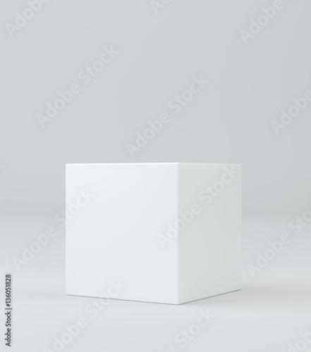 Canvas Print Empty pedestal