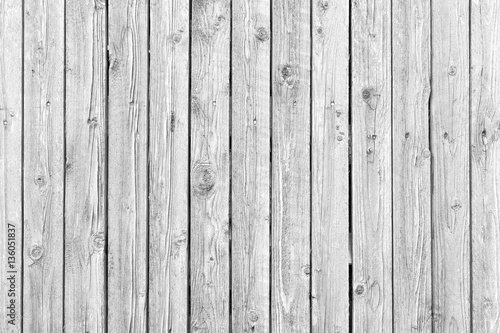Old Wood Texture With Weathered White Paint