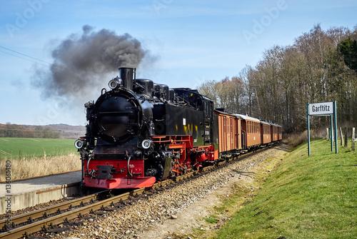 Fotografie, Obraz Rasender Roland auf Rügen