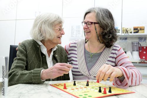 Senioren Häusliche Altenpflege плакат
