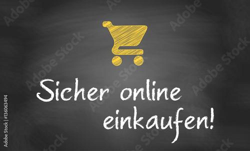 Fotografie, Obraz  Sicher online einkaufen!
