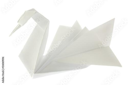 Swan of origami