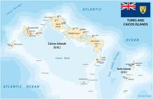 Turks And Caicos Islands Vecto...