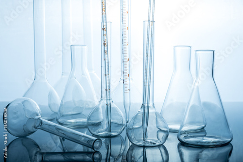 Equipment for chemistry experiments  - Buy this stock photo and
