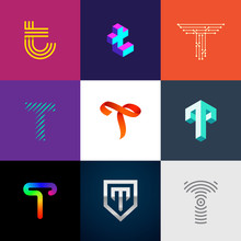 """Letter """"T"""" Big Logo Pack. Crea..."""