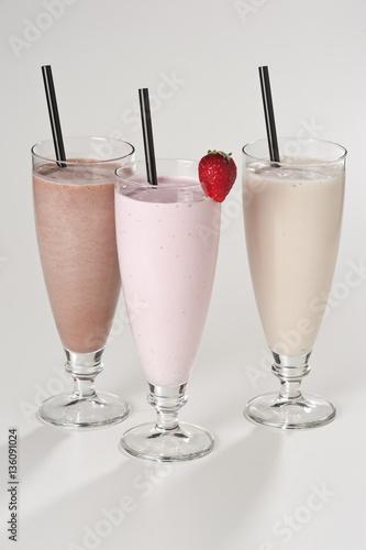 In de dag Milkshake Frappè