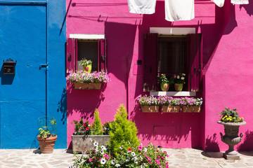 Fototapeta na wymiar typisch Burano Venedig