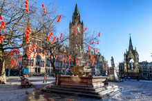 Manchester TownHall England