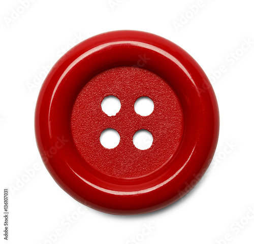 Poster Macarons Red Button