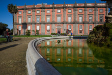 Naples (Italy) - Capodimonte Royal Palace And Park