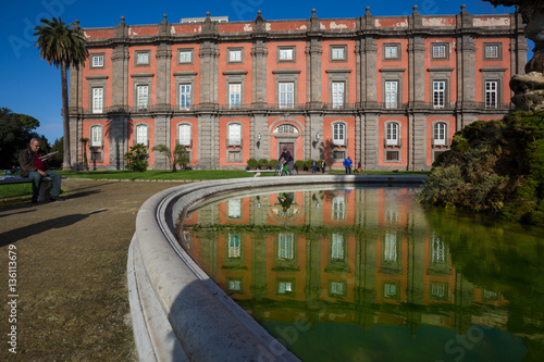 Fotografie, Obraz Naples (Italy) - Capodimonte Royal Palace and park
