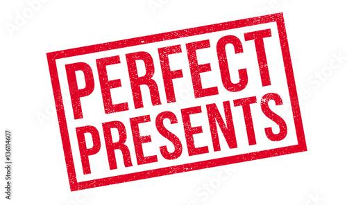 Fotografie, Obraz  Perfect Presents rubber stamp