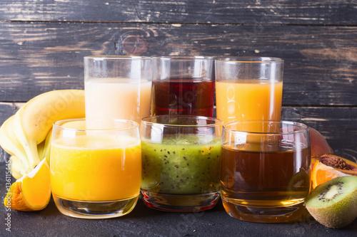 Poster Sap Fruit juice collection