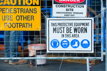 Safety And Security On Construction Site