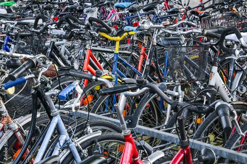 Valokuva  Fahrradparkplatz
