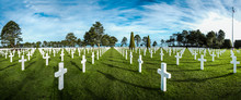 American Cemetery In Normandy,...