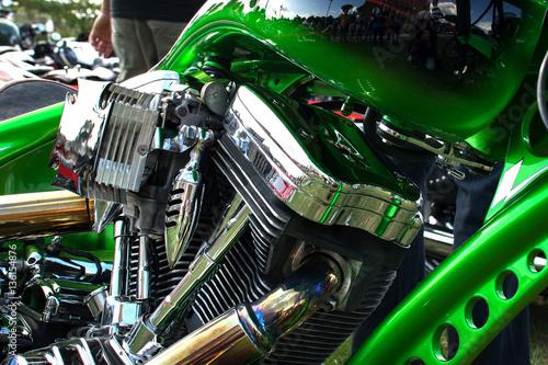 Zdjęcie XXL Amerykański dwucylindrowy silnik