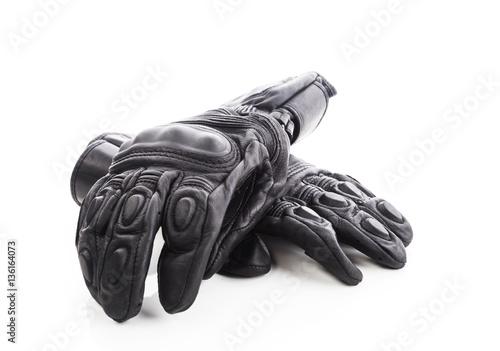 Fotografija  motorcycle glove isolated