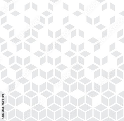Zdjęcie XXL Abstrakcjonistyczny geometryczny czarny i biały graficzny minimalny halftone wzór