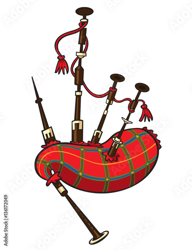 bagpipes buy this stock illustration and explore similar rh stock adobe com bagpipes clipart free bagpipes clipart image