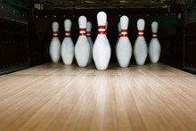Ten Pin Bowling Alley Background