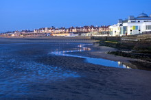 Bridlington South Bay At Dawn