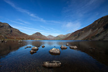 Wast Water Lake In The Lake District, Cumbria, England