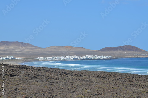 Printed kitchen splashbacks Canary Islands Holiday in paradise