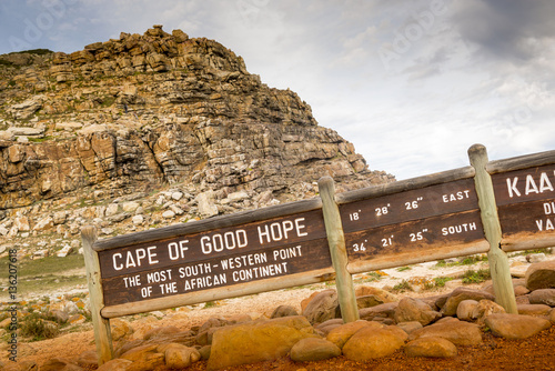 Fotografija  Cape of Good Hope Sign