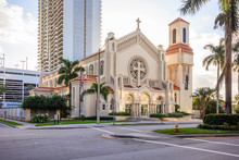 Trinity Episcopal Cathedral In Miami, Florida Is The Cathedral Church Of The Episcopal Diocese Of Southeast Florida And Inspired By The Architecture Of Roman Catholic Cathedrals.