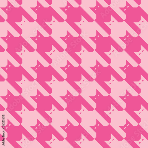Photo  Catstooth in Pink
