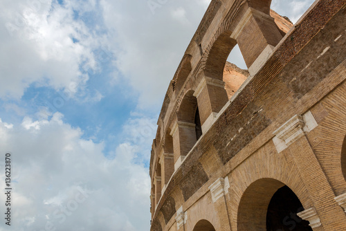 Photo  Colosseum (Coliseum) in Rome, Italy