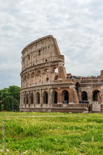 Colosseum (Coliseum) in Rome, Italy Canvas Print