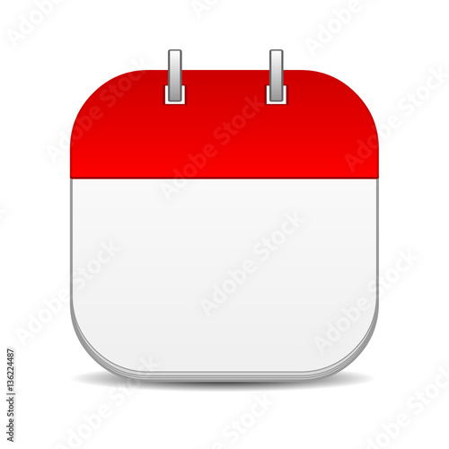 Blank Calendar Icon : Blank calendar icon buy this stock illustration and